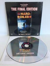 Hard Boiled II 2  - The Final Edition | Laserdisc  | LD: Near Mint