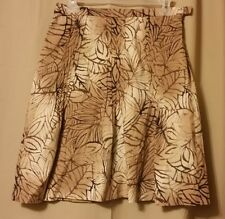 WORTH - Pleated Shades of Brown Skirt Size 4                               B1