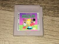 The Simpsons Bart vs. the Juggernauts Nintendo Game Boy Cleaned Tested Authentic