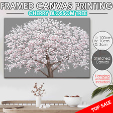 Cherry Tree canvas print stretched art home decor  Wall painting framed 100x70