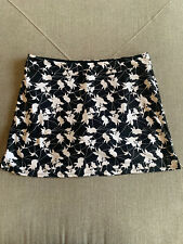 Tranquility By Colorado Clothing Black Floral Skort Golf Active Run Tennis XL