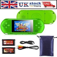 Retro Portable PXP3 Slim Station Video Game Console Handheld 16Bit 150+ Games UK