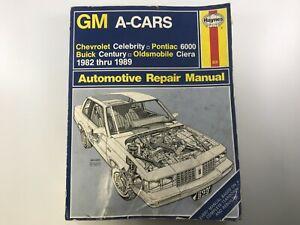 HAYNES 829 GM A-CARS 1982-1989 REPAIR MANUAL