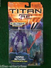 Titan A.E. Inferno Battle Drej Figure Hasbro 2000