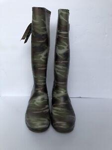 Kamik Women's Squad Rubber Rain Boots SIZE 9 Waterproof - Camo - NEW in Box 📦