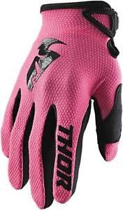 Thor Women's Sector Gloves - MX Motocross Dirt Bike Off-Road ATV MTB Gear