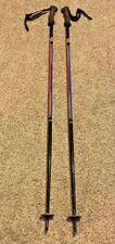 "Vintage K2 USA Ski Poles Black Red Blue White 127cm 50"""