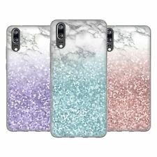 OFFICIAL NATURE MAGICK MARBLE GLITTER SPARKLE PASTEL GEL CASE FOR HUAWEI PHONES
