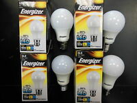 3 x Energizer LED Standart GLS Bulb ES BC output as 40/60/75/100W Non-Dimmable