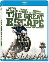 The Great Escape (Blu-ray Disc, 2013) Steve McQueen NEW