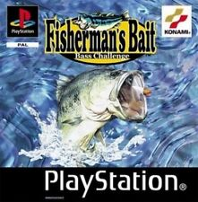 Fisherman's Bait: A Bass Challenge  Playstation 1 Damaged Case Missing Manual