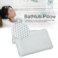 Thick Bath Pillow SPA Headrest Bathtub Pillow With Backrest Cushion Suction Cups