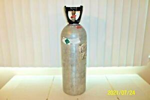 20 Lb. ALUMINUM CO2 CARBON DIOXIDE TANK- NEW-Beverage, Welding & Beer System