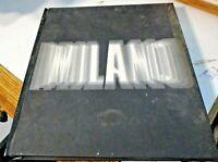 MILANO di L. VERGANI - ED. ELECTA 1967 stupendo volume fotografico