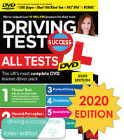Driving Theory Test Success All Tests 2020 DVD for Cars and Motorcyclists