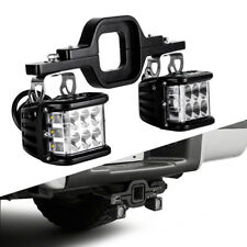 3inch Tow Hitch Mounting Bracket Back-up Reverse Search LED Light Bar Truck SUV