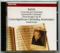 CD Antal DORATI : Bartok Concerto.. / Philips Digital, West Germany full silver