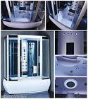 Steam Shower,Whirlpool,Foot Massage,Aromatherapy. BLUETOOTH,6 Year US Warranty.