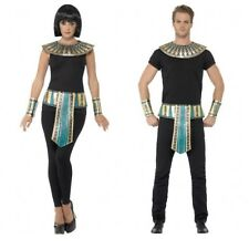 Egyptian Cleopatra Pharaoh Collar Neck Piece Belt Cuffs Costume Accessory Egypt