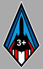 LOCKHEED SR 71 BLACKBIRD 3+ BLASON BADGE SQUADRON 12cm AVION STICKER AV058