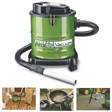 PowerSmith PAVC101 10 Amp Ash Vacuum Fireplace Wood Pellet Stove Barbeque Grill