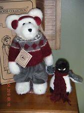 "Boyds Bears Plush Limited Exclusive ~14"" Breven B. Bearski W/ Willie Waddlewalk~"