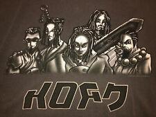 Rare Vintage 1999 KORN Anime CONCERT TOUR Nu ALT Metal Rock Band SHIRT 90s Vtg