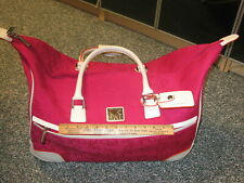 GS Women's Luggage Tote Gym Bag Carry on Pink by Studio Art Rolling Suitcase