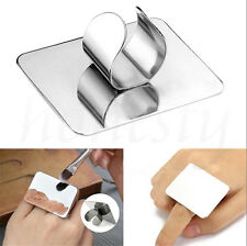 Mini Finger Nail Art Mixing Palette Accessory For Free Hand Manicure Ring Tools