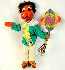 Vintage Primitive Mexican Folk Doll
