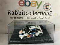 """DIE CAST """" VOLKSWAGEN POLO R WRC RALLY SWEDN 2013 S. OGIER """" PASSIONE RALLY 1/43"""