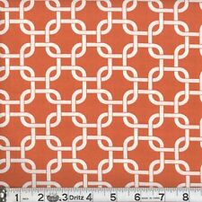 "2 yards of  ""Rope Links"" Burnt Orange Fabric"