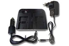 Kit de cargador de batería de red coche para SONY DSLR-A230Y DSLR-Alpha A330