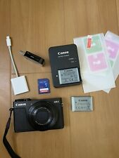 BUNDLED* Black Canon PowerShot G9X + Extra Battery, 64GB- See below