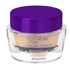 CoverGirl + Olay Facelift Effect Firming Makeup Fair, Light, Light/Medium ~ NEW
