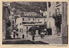 # S. DONATO VAL DI COMINO: PIAZZA CARLO COLETTI   1959