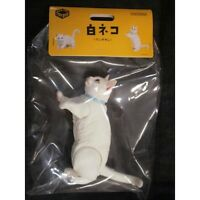 Kaiyodo MUNCHKIN Cat White 6.22in Sofubi Toy Box negora soft vinyl figure Japan
