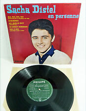 "SACHA DISTEL en Personne - french 60s 10"" Vinyl LP Philips Minigroove"
