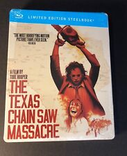The Texas Chainsaw Massacre [ Limited Edition STEELBOOK ]  (Blu-ray Disc) NEW