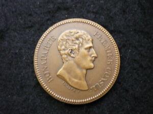Médaille Bonaparte 1er consul AN XI Bronze