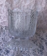 Vintage Avon Fostoria Perfumed Candle Holder