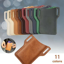 11 Colors Mini Cell Phone Waist Bag Leather Fanny Pack Handbag Tote Travel Pouch