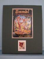 Walt Disney's Bambi & its own Stamp