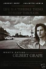 What's eating Gilbert Grape Johnny Depp Movie poster