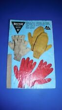 Bestway Vintage Adults Mitts & Gloves Knitting Pattern 3155