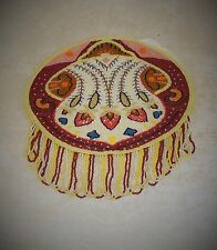 RARE UNUSED DEAD STOCK FRENCH ART DECO BEADED BAG / PURSE READY FOR FRAME MINT