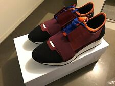100% Authentic Brand New Balenciaga Multi Panel Red/White Race Runners EU42