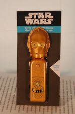 STAR WARS 3-CPO BOTTLE OPENER WITH SOUND HALLMARK NEW ON CARD FREE US SHIP