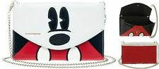 """Disney Mickey Envelope Wallet / Clutch Bag With 48"""" Chain Free Ship"""