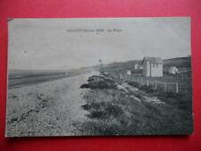 COLLEVILLE-SUR-MER  : La Plage......VO.1920.